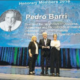Pere Barri, homenajeado por los expertos europeos en reproducción