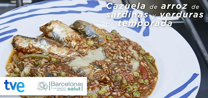 La ciencia de la salud – Receta para las enfermedades neurodegenerativas – Cazuela de arroz de sardinas y verduras de temporada