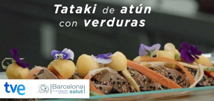 La ciencia de la salud – Tataki de atún con verduras