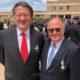 Los doctores Rafael Barraquer y Enrique Ferrer, Cruz de la Orden de Mérito con distintivo blanco de la Guardia Civil